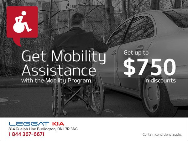 Get Mobility Assistance with Kia Canada's Mobility Program