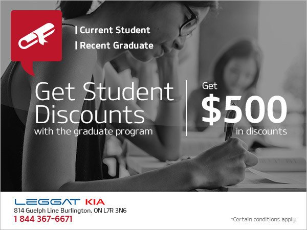 Take Advantage of Our Student Discounts